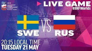 Sweden vs. Russia | Full Game | 2019 IIHF Ice Hockey World Championship