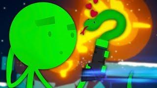 JACK VS. ROBIN | Stick Fight The Game #1 w/Robin