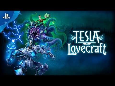 Tesla vs Lovecraft Trailer