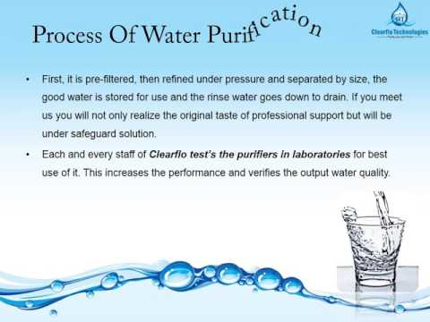 Clearflo Technologies_Water Purifier In Chennai   RO Services