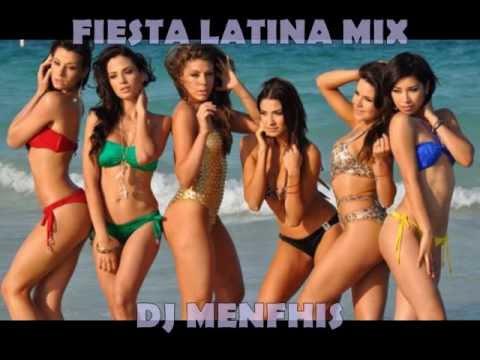 FIESTA LATINA MIX 2013 - DJ MENFHIS