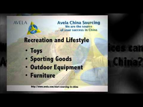 What Products Can Be Sourced in China? | Avela Corporation