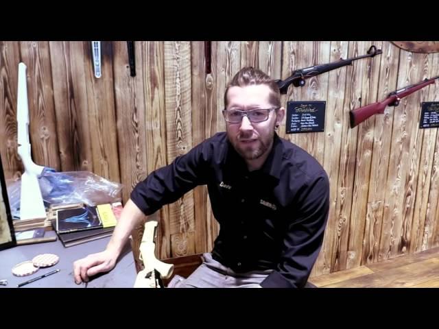 WILDE HUNDE: Interview SAUER Pinstripe Gravur