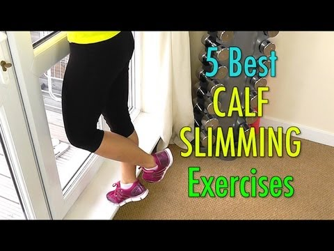 5 Best Calf Slimming Exercises (Not Bulky!) - Smashpipe Style
