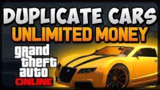 GTA 5 ONLINE (duplicating cars in money) Live Stream