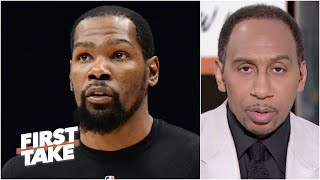 First Take reacts to Kevin Durant addressing his exchange with Michael Rapaport