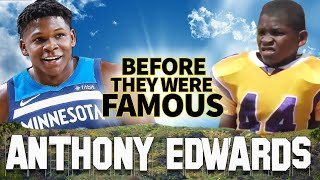 Anthony Edwards | Before They Were Famous | NBA #1 Draft Pick to Minnesota Timberwolves