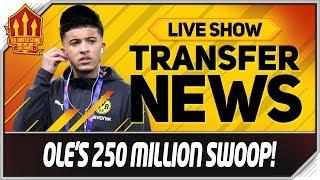 Solskjaer's 250 Million Sancho, Koulibaly, Verratti Swoop! Man Utd Transfer News