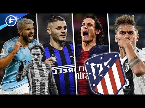 La short-list de l'Atlético de Madrid pour remplacer Antoine Griezmann | Revue de presse