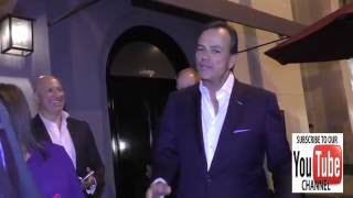 Rick Caruso talks about how much he dislikes Donald Trump outside Craig's Restaurant in West Hollywo