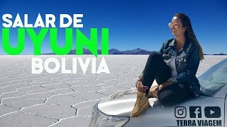SALAR DE UYUNI VISTO DO DRONE - O MAIOR E MAIS ALTO DESERTO DE SAL DO MUNDO - Terra Viagem - Ep. 46