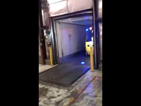 Yale Materials Handling Green Bay Forklift Safety Light