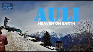 DELHI TO JOSHIMATH & AULI Roadtrip Teaser (best skiing place india)