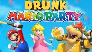 DRUNK MARIO PARTY - Mario Party 10 Gameplay
