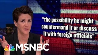 Donald Trump Flips Out Over NYT Report On New US Aggression With Russia | Rachel Maddow | MSNBC
