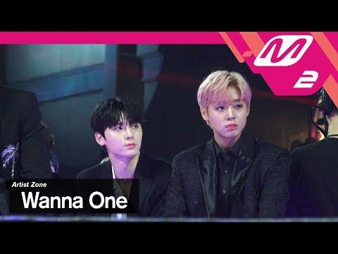 (미공개) [2017MAMA x M2] 워너원 Reaction to GOT7's Performance