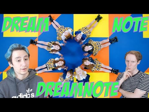 DreamNote - DREAMNOTE [Debut Reaction]