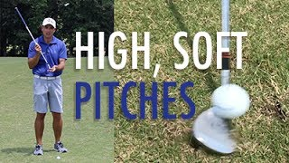 How to Hit High, Soft Lob Shots with Mike Sullivan Short Game, Raleigh, NC