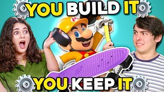 Can YOU Build A Skateboard In 30 Minutes? | You Build It, You Keep It
