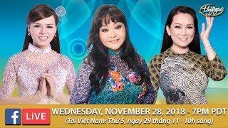 Livestream với Hương Lan, Hương Thủy, Băng Tâm - Nov. 28, 2018