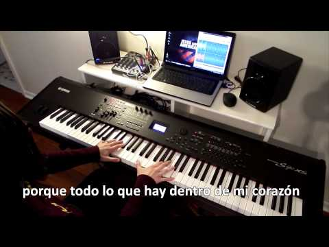Renuevame (Marcos Witt) - pista instrumental piano, karaoke