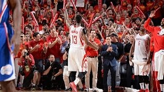 James Harden Scores 31-Points to Lead Rockets in Game 7