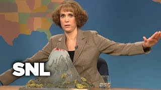 Weekend Update: Judy Grimes On Iceland's Volcanic Ash Affecting Travel - SNL