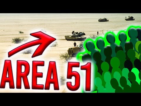 The Internet Plans To Storm Area 51 - BAD IDEA!