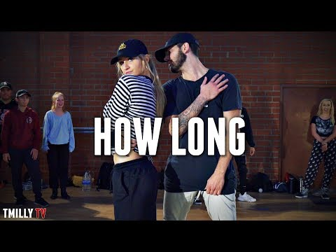 Charlie Puth - How Long - Choreography by Jake Kodish & Delaney Glazer - #TMillyTV