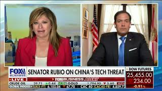 Rubio Joins Fox Business's Maria Bartiromo to Talk Hong Kong, CCP Aggression & Small Business Aid