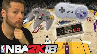 Can you play NBA 2K18 with Nintendo Controllers?