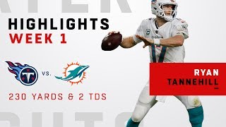 Ryan Tannehill Gets the Win After Return From 2017 Injury