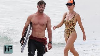 Chris Hemsworth and Elsa Pataky - HOTTEST COUPLE EVER
