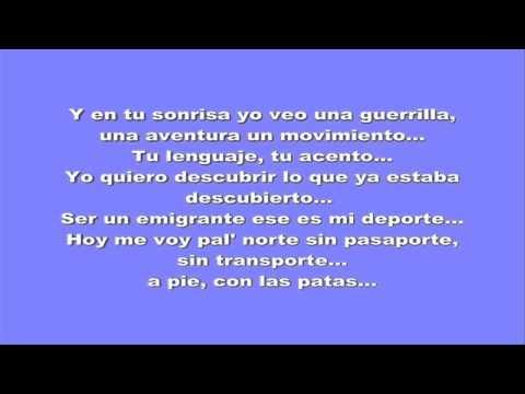 Calle 13 - Pa'l Norte (Letra)