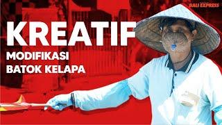 Tukang Parkir Viral, Gunakan Masker dari Batok Kelapa