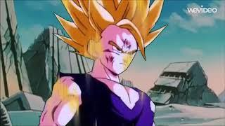Evil Goku VS Ssj2 Kid Gohan(悪悟空VS孫悟飯)