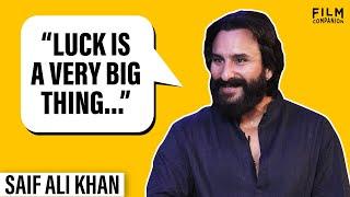 Saif Ali Khan Interview With Anupama Chopra   Sacred Games   FC Unfiltered