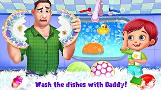 Daddy's Little Helper - Messy Home Fun Adventure: Part 1 - BEST ANDROID GAMES FOR KIDS