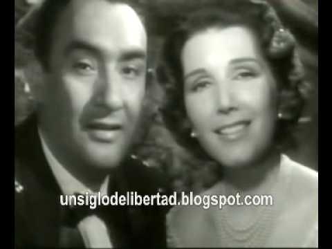Libertad Lamarque y Pedro Vargas