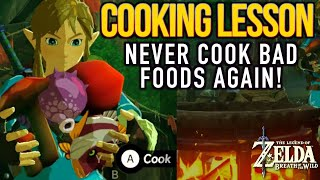 Breath of the Wild - How to Cook and Avoid Dubious Foods