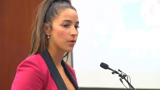 Aly Raisman delivers powerful speech at Larry Nassar sentencing
