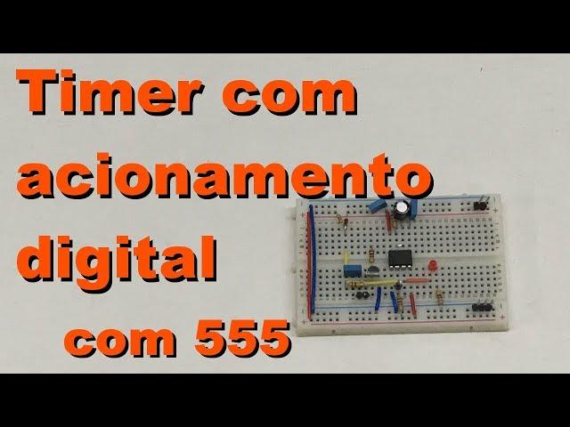 TIMER COM ACIONAMENTO DIGITAL | Conheça Eletrônica! #080