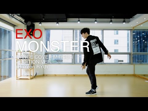 EXO(엑소)-MONSTER (몬스터)dance Cover(mirror) audition ver.