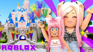 *FAMILY TRIP To DISNEY* Mom Life in Adopt Me ROBLOX Roleplay