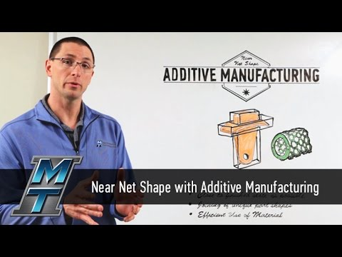 MTI Whiteboard Wednesdays: Near Net Shape Additive Manufacturing