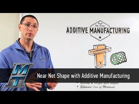 MTI Whiteboard Wednesdays: Near Net Shape Additive Manufacturing