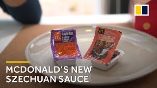 What do Chinese people think about McDonald's new Szechuan sauce?