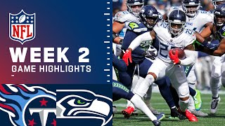 Titans vs. Seahawks Week 2 Highlights | NFL 2021