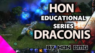 HoN Educational Series | Draconis jungle | Legendary Rank with iamDalle