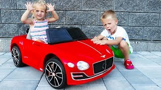 Unboxing And Assembling - 12V POWER WHEEL Ride On Red Bentley EXP12 with Thomas Toys